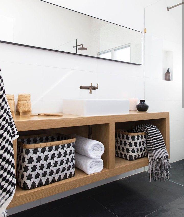 Simple bathroom vanity