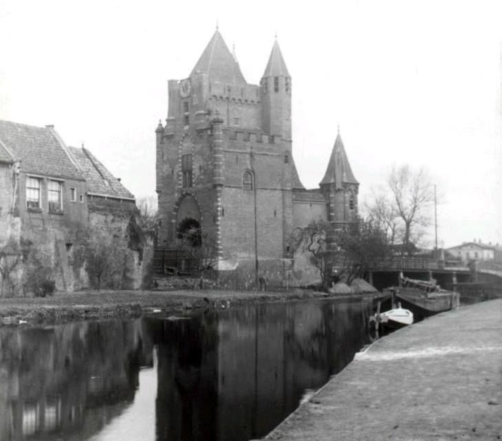 Amsterdamse Poort Haarlem (jaartal: 1910 tot 1920) - Foto's SERC