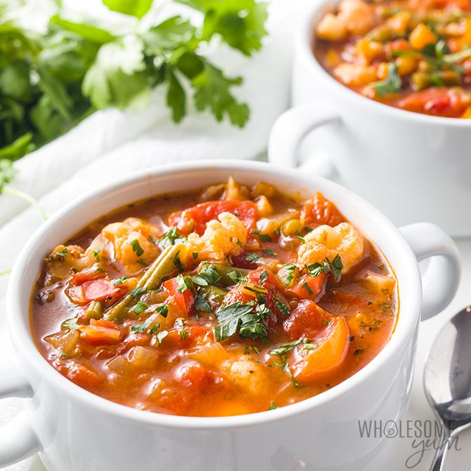 The Best Vegetable Soup Recipe Ever Ready In 30 Minutes If You