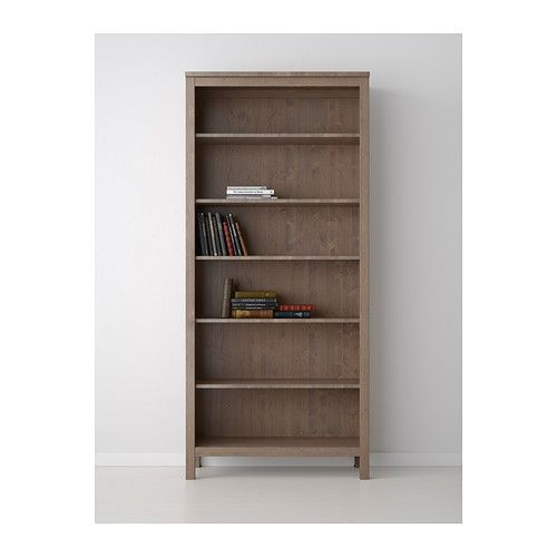 Solid wood bookcases ikea roselawnlutheran for Ikea wooden bookshelf