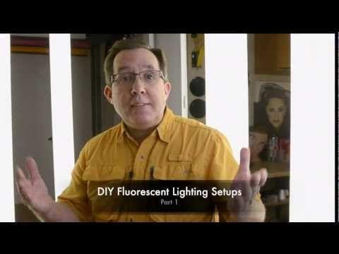 Como hacer un setup con fluorescentes comunes Parte 1