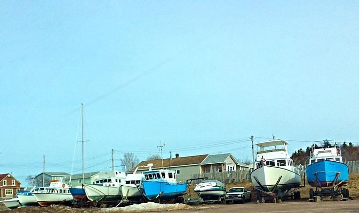 Boats at Botwood by tracy.alderson.96
