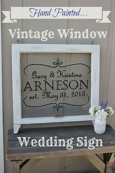 a hanging window sign would be lovely, exactly like how the others are shown but  a window, how sweet would that look!