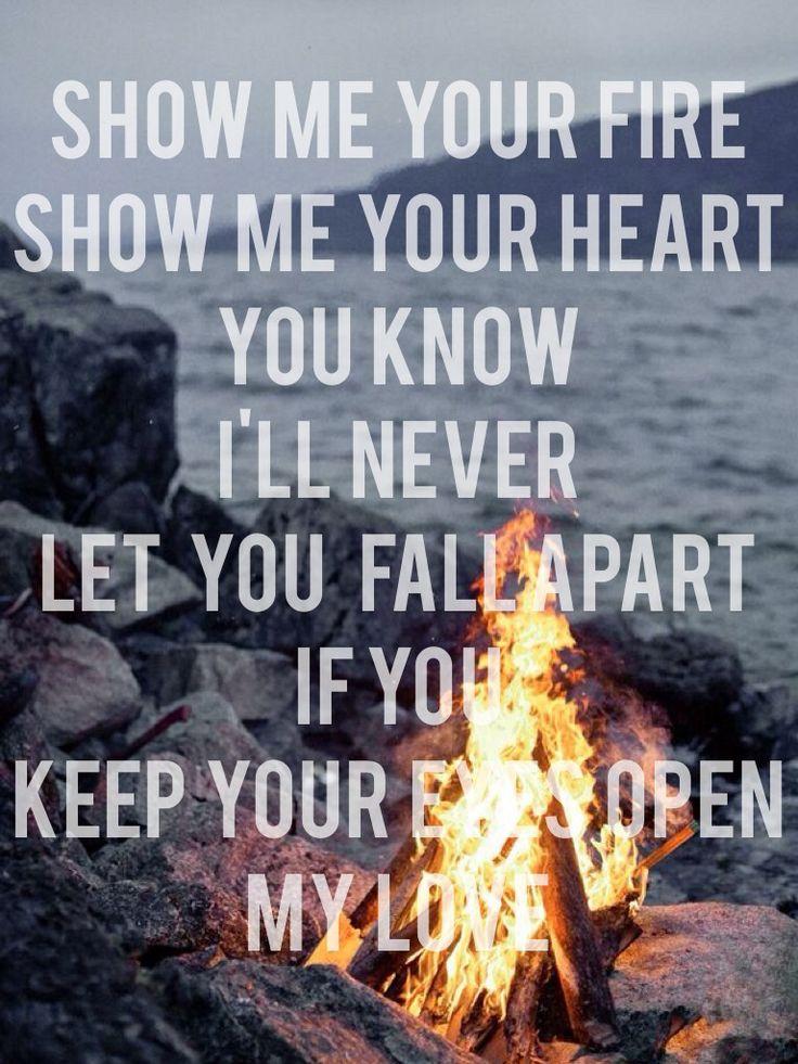 Lyrics to keep your eyes open by needtobreathe