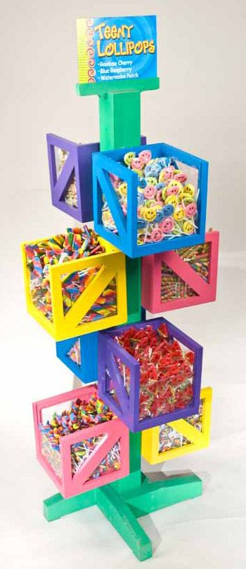 This would be an amazing custom display rack project...So many color possibilities...Would be great for any products...  #mainebucket #visualmerchandising