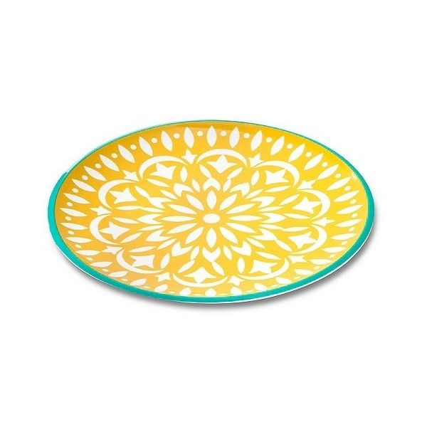 Mudhut Marika 9in Melamine Salad Plate ($2.49) ? liked on Polyvore featuring home  sc 1 st  Pinterest & 136 best melamine dinner plates images on Pinterest | Dinner plates ...