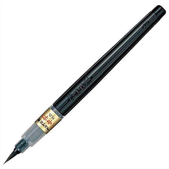 Rosewood Caligrafía herramienta de pincel de agua para escribir y pintar