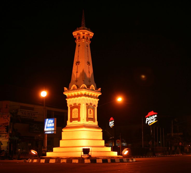 monument of yogyakarta , central java