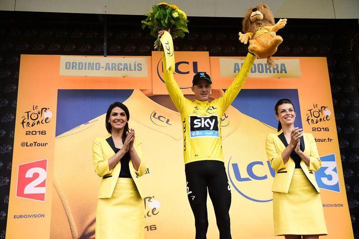 Tour de France 2016 - 10/07/2016 - Etape 9 - Vielha Val d'Aran/ Andorre Arcalis (184,5 km) - FROOME Christopher (TINKOFF) conserve le maillot Jaune © ASO/A.Broadway
