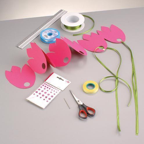 17 best ideas about tulpen basteln on pinterest osterbasteln mit kindern basteln kinder unter. Black Bedroom Furniture Sets. Home Design Ideas