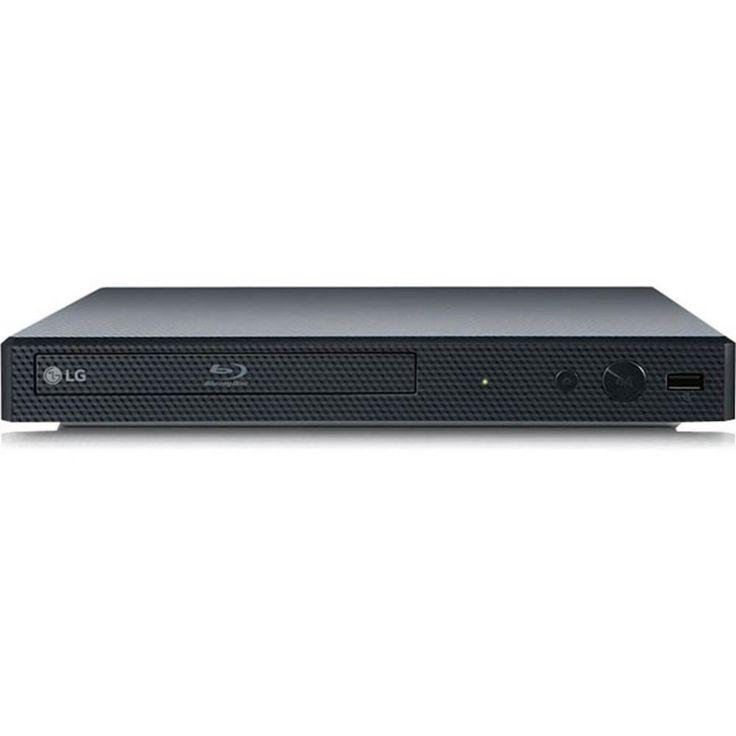 LG BP155 1 Disc(s) Blu-ray Disc Player - 1080p - Black - DTS, Dolby TrueHD, Dolby Digital Plus, Dolby Digital, DTS 2.0 Digital out, DTS-HD Master Audio - BD-RE, DVD+RW, DVD-RW, CD-RW - BD Video, DVD Video, MPEG-1, MPEG-2 PS, MPEG-2 TS, H.264, VC-1, VC-9,