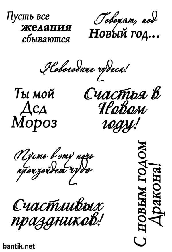 Открытки смешные, цитаты для открыток на новый год