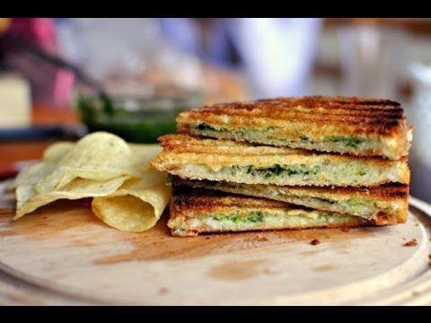панини c тунцом, рецепт приготовления вкусного бутерброда на завтрак (panini with tuna recipe) - YouTube