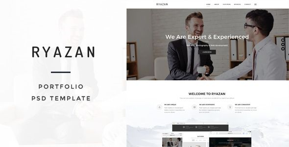Ryazan - Portfolio PSD Template - Portfolio Creative Download here : https://themeforest.net/item/ryazan-portfolio-psd-template/19803900?s_rank=263&ref=Al-fatih