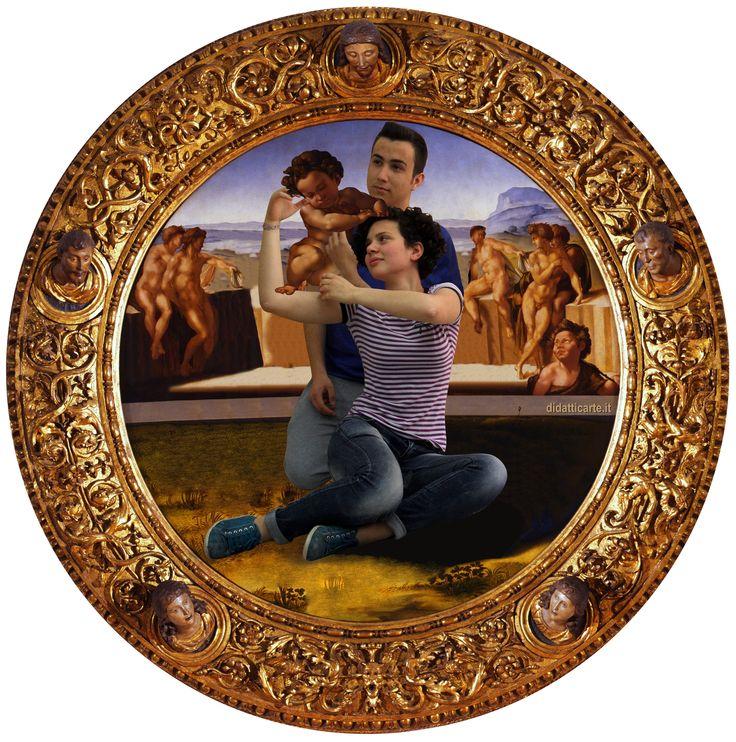 Tondo Doni by Michelangelo