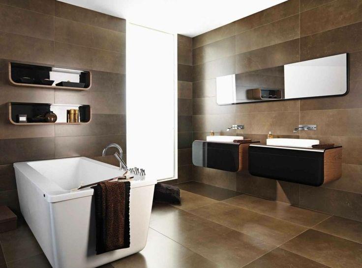 Les 25 meilleures idées de la catégorie Salle de bain marron sur ...