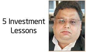 Follow these lessons if you want to become crorepati like rakesh jhunjhunwala. | 5 investment lessons from Rakesh Jhunjhunwala