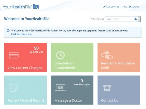 MediTouch EHR Software - Meaningful Use Certified Patient Portal