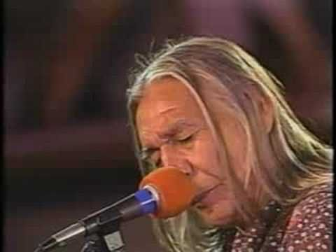 there is not a bad version of this song: Floyd Red Crow Westerman - Just Another Holy Man.  Says it all...if you have a vision, they'll try to kill it or you.