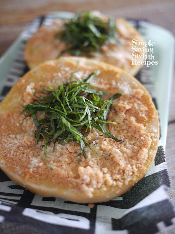 元気に朝ご飯!明太子チーズベーグルトーストの作り方 by SHIMA ...