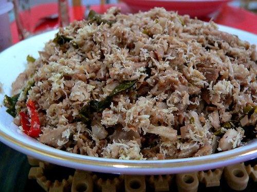 Urap dari nangka muda + rempah, lauk wajib orang Pekalongan untuk sarapan, makan siang, makan malam