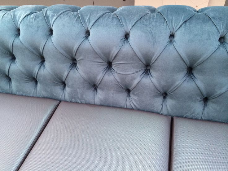 Beautiful button-back detail.  Eurofurn tailors furniture to your project