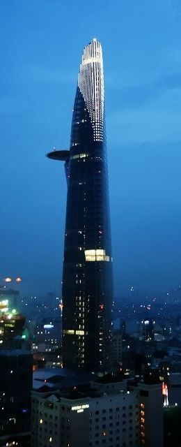 Bitexco Financial Tower, Ho Chi Minh City, Vietnam designed by Carlos Zapata Studio :: 68 floors, height 262m