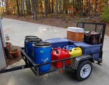 """Beefing up the Bug Out Trailer"" links to a practical article about how to modify a standard utility trailer. It be good to have the assembly parts and supplies ready to go at short notice. -CAB"
