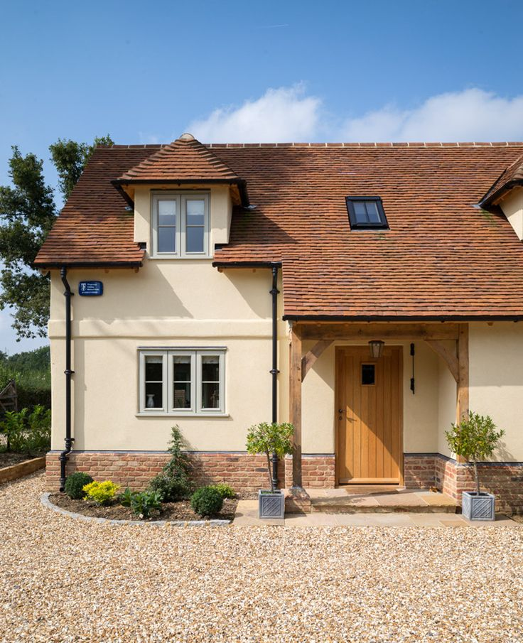 Surrey Pearmain - Border Oak - oak framed houses, oak framed garages and structures.