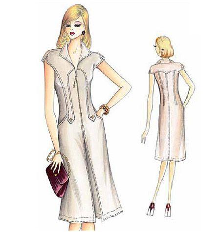 Marfy F1717 dress