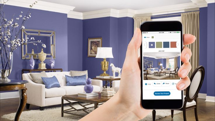Preview Paint Colors | Eliminate the guesswork in choosing a paint color and bring your paint project to life, before you even pick up a brush. To find the perfect color palette for your home, grab your smartphone and try the Pittsburgh Paints and Stains® digital color visualizer now!