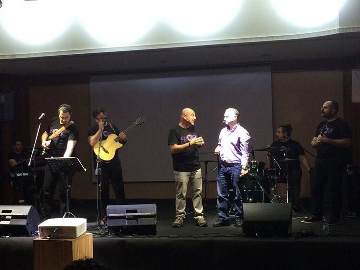 @mehmetauf ile #HayatınRitmi orkestrası kurum degerlerini Müzikli Business Show'la anlatıyor;)