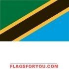 4' x 6' Tanzania High Wind, US Made Flag