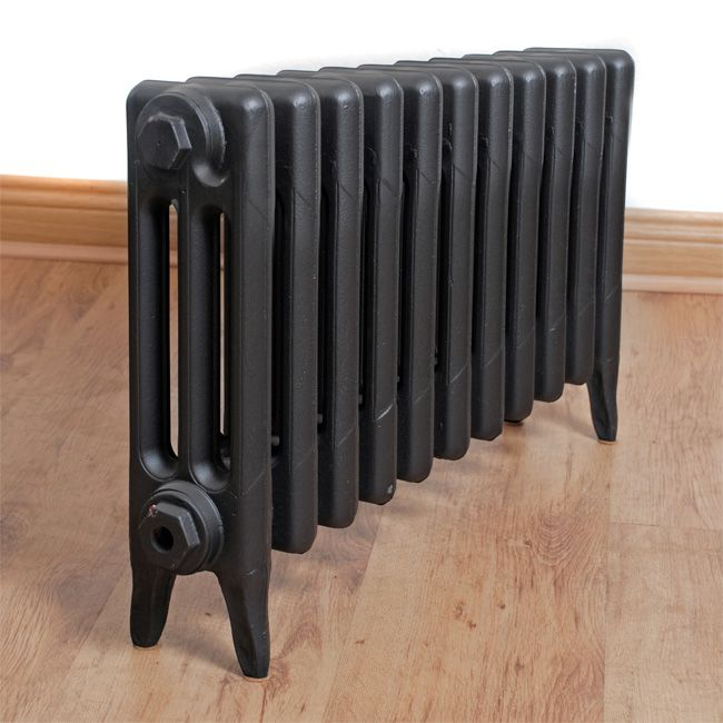 SMALL Victorian 3 Column - Cast Iron Radiator - Victorian Solid Cast Iron Radiator