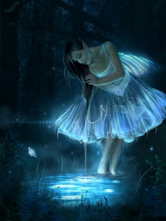 water fairy wallpaper beautiful - photo #6