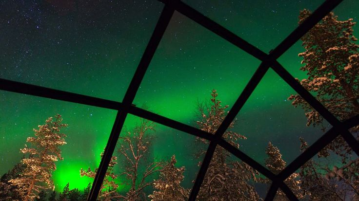 Glass igloos- great website for this trip that I want to take hope I get to do it someday