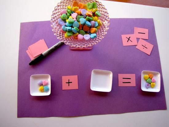 {Candy Math} Make math equations dynamic, editable, and fun... *Just another excuse for me to buy M and M's ;-)