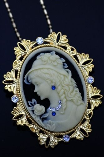 Antique Inspired Lovely Cameo/                                                                                                                                                      More