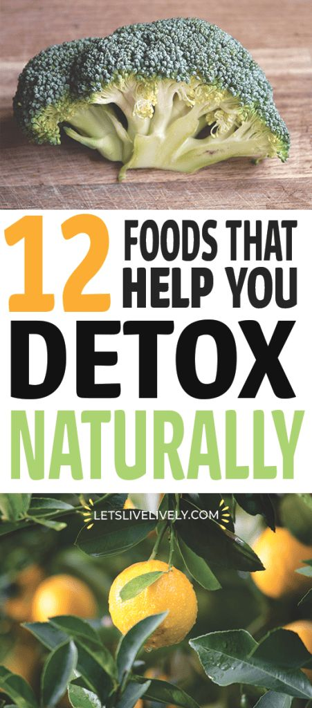 Are you looking for a healthy way to detox your body? Eating certain foods is the best way to detox and cleanse your body from certain toxins. Check out these 12 different foods that will remove toxins from your body through a natural detox.