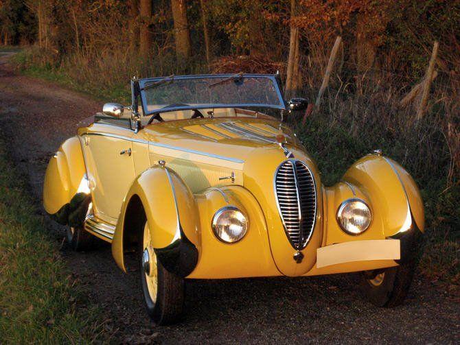 1935 Talbot Lago T120 Figoni & Falaschi