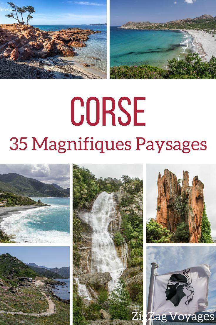 Les Plus Beaux Paysages De Corse En Photos De La Montagne A La Mer Les Plus Beaux Paysages Paysage Corse Beau Paysage