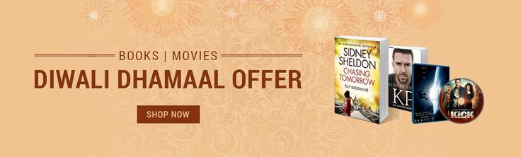 Infibeam.com, leading online shopping website presents an exclusive offer of Upto 50% Off + extra 15% off on Books & Movies exclusively Diwali 2014 Offers. Also get additional 10% off on Movies DVD by using Coupon Code: DIWALICINEMA10.