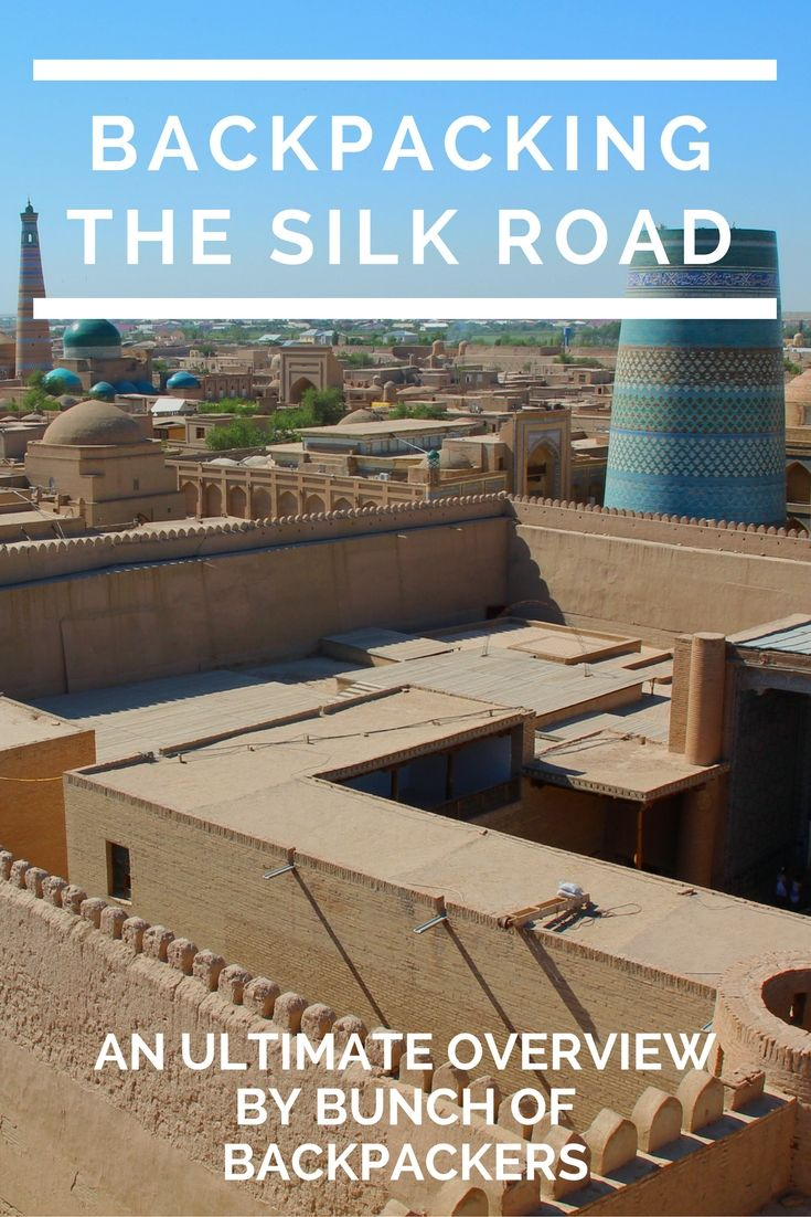 BUCKET LIST MATERIAL: Backpacking the legendary Silk Road! This is my overview of four months backpacking the SILKROAD in Turkey, Iran, Kazakhstan, Uzbekistan, Tajikistan, Kyrgyzstan and China. | By Bunch of Backpackers