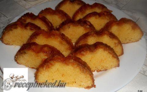 Narancsos kevert sütemény recept fotóval