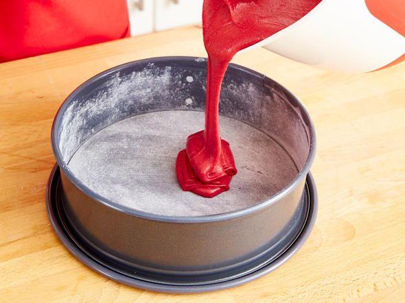 Red  Velvet Cake - Schritt 3: