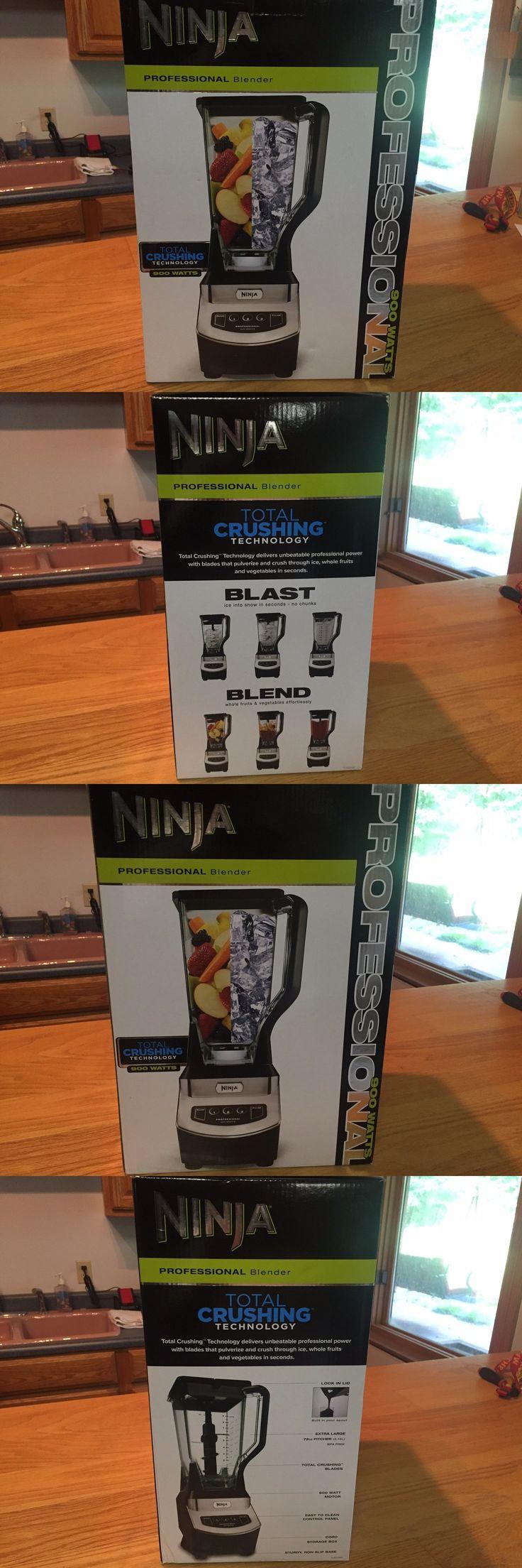 Blenders Countertop 133704: Brand New...Ninja Professional Blender, Nj600wm - Total Crushing Technology 900W -> BUY IT NOW ONLY: $52.5 on eBay!