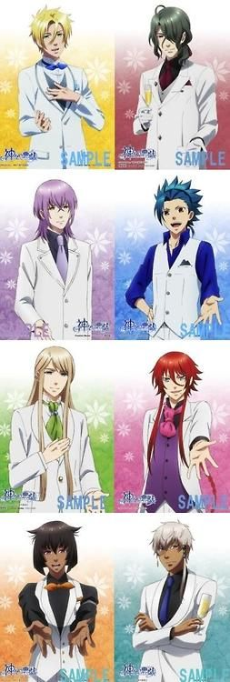 OH CHEESECAKES THEY LOOK SO HANDSOME IN SUITS - Kamigami no Asobi