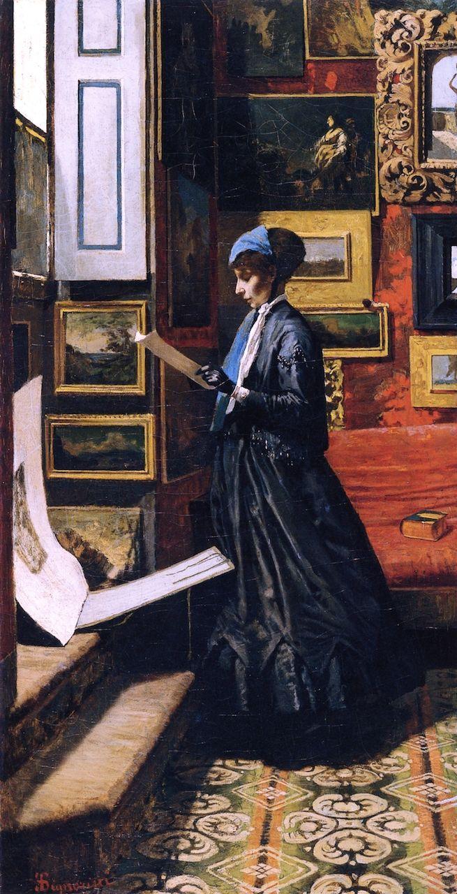 Waiting - Telemaco Signorini ~1867