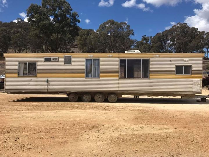 For Sale 40Ft Caravan,unregistered,would suit farm or onsite accommodation.Location Bathurst. $9500.00 Ono. #rangloo, #bar, #accessories