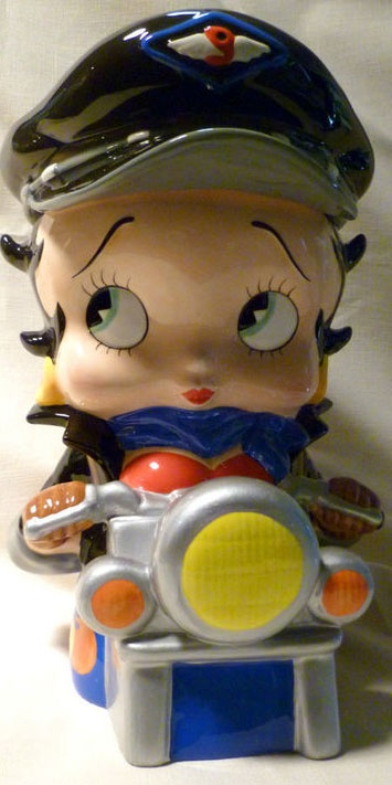 Vandor Betty Boop Cookie Jar